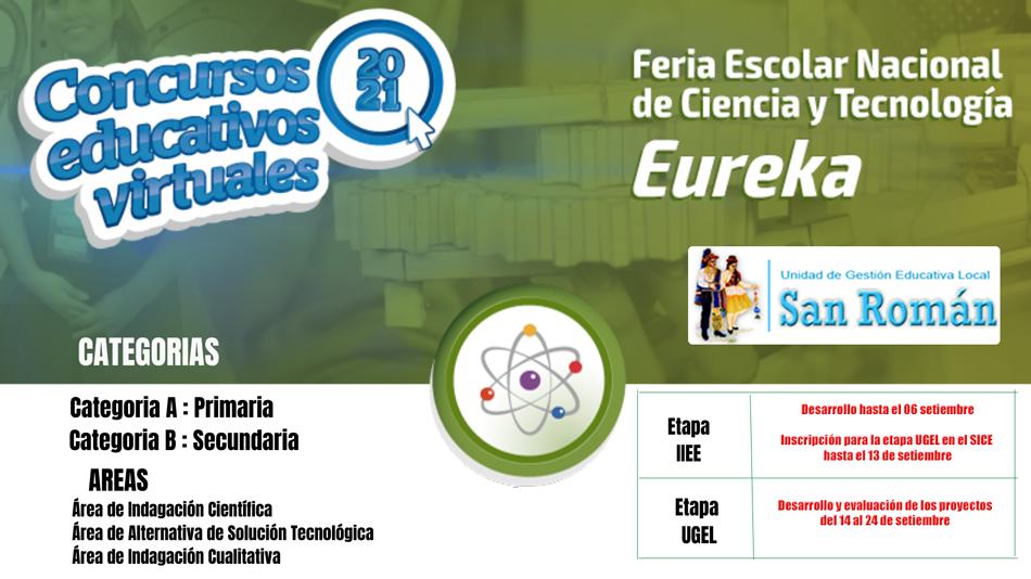 FERIA ESCOLAR NACIONAL DE CIENCIA Y TECNOLOGIA